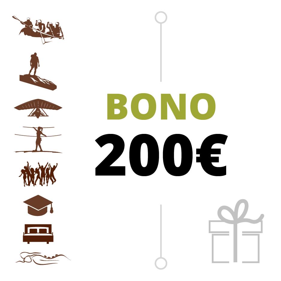 BONO REGALO 200 €