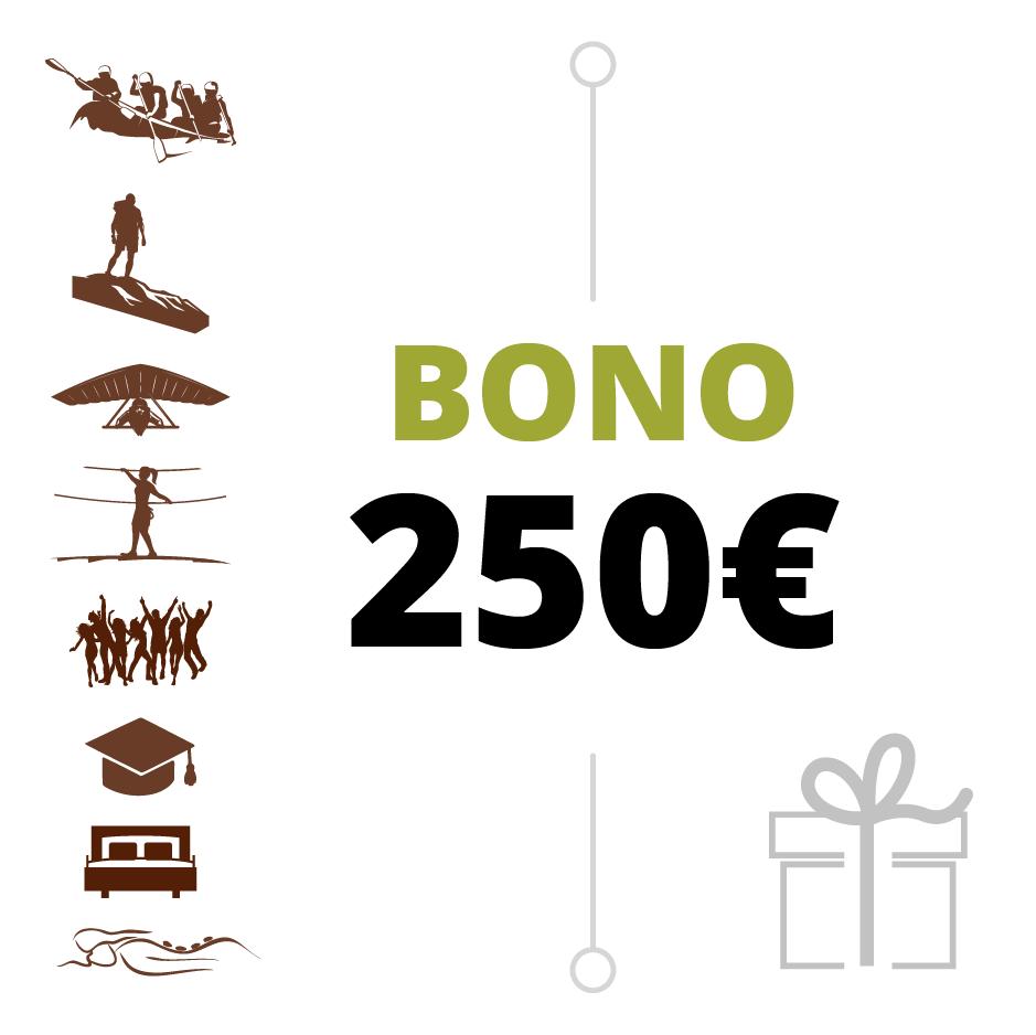 BONO REGALO 250 €